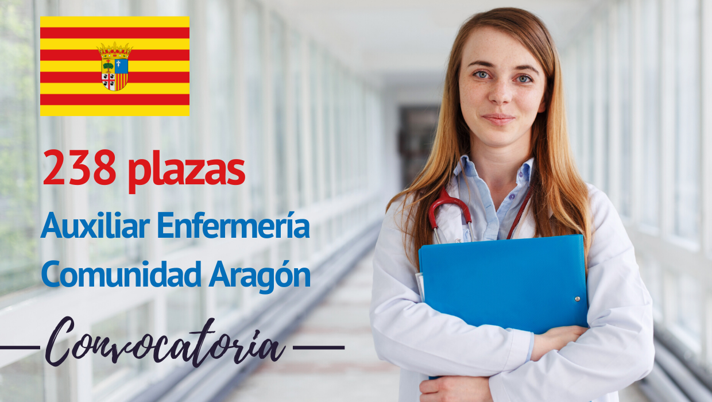 Convocatoria 238 plazas TCAE Aragón