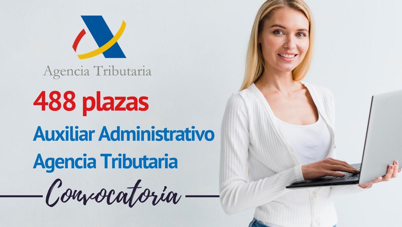 488 plazas Auxiliar Administrativo para Hacienda