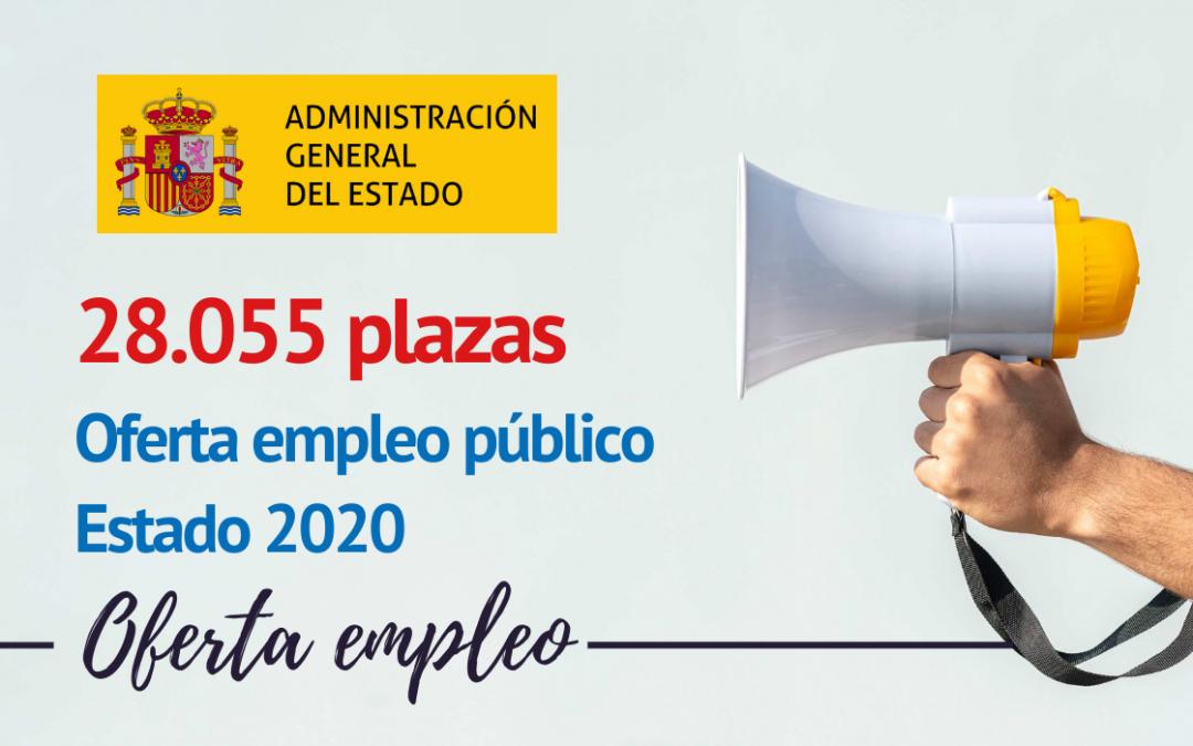 Aprobada Oferta de empleo Estado 2020