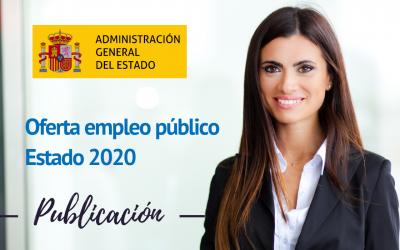 Publicada Oferta de empleo del Estado para el año 2020