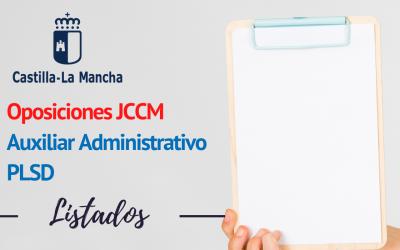 Listados provisionales Auxiliar Administrativo y Personal de Limpieza Castilla la Mancha